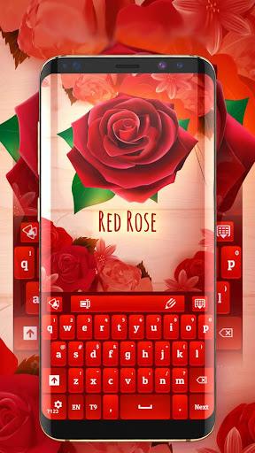 Red Rose Keyboard 4.1.8 screenshots 1