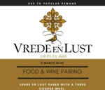 Vrede & Lust Food and Wine Pairing : Blos Cafe