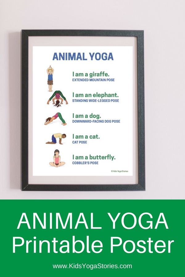 58 Fun and Easy Yoga Poses for Kids (Printable Posters)