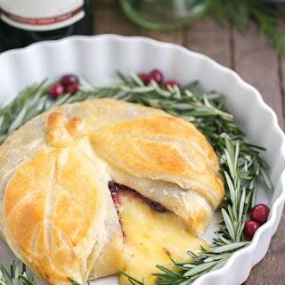 Cranberry Brie en Croute.
