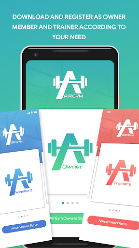 Airgym Fitness app screenshot 1 for Android