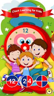Clock Learning for Kids 2017 - náhled