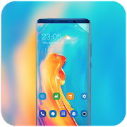 Theme for redmi6A simple oil paint wallpaper icon