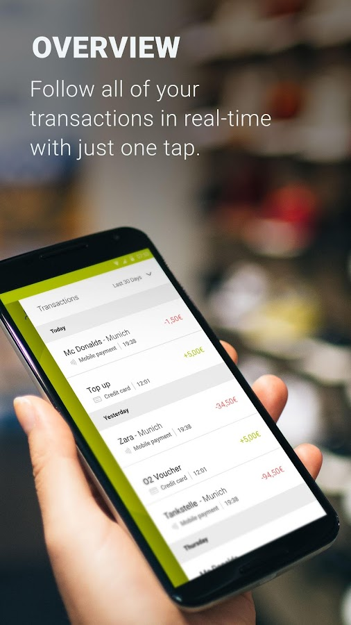 boon. – contactless payments – Capture d'écran