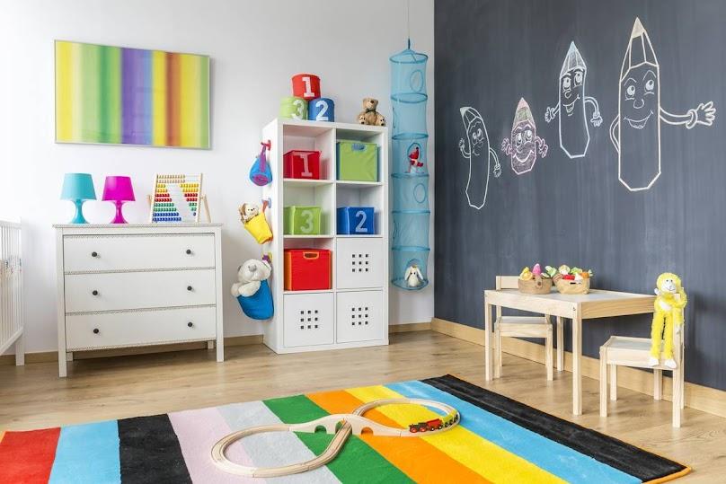 Farba tablicowa w pokoju dziecięcym