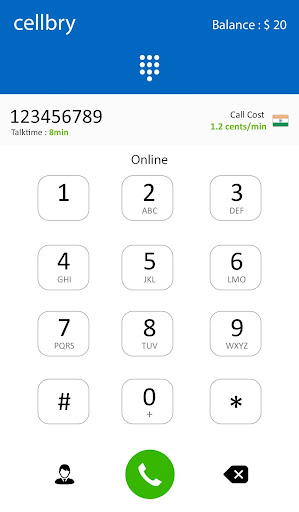 Cellbry - International Calls app (apk) free download for Android/PC