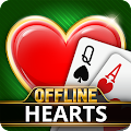Hearts Offline - Single Player Free Hearts Game APK