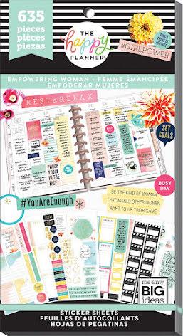 Me & My Big Ideas Happy Planner Sticker Value Pack - Empower Women
