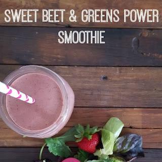 Sweet Beet & Greens Power Smoothie