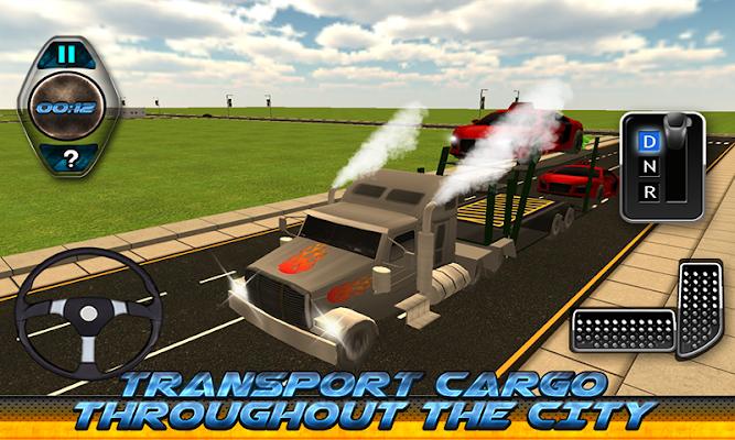 Cargo Transport Truck Driver - screenshot