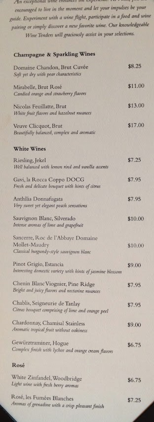 Wine List And Wines By The Glass Cruise Critic Message Board Forums