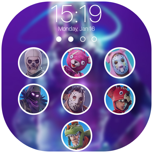 Battle Royal Lock Screen - FBR Wallpapers Icon