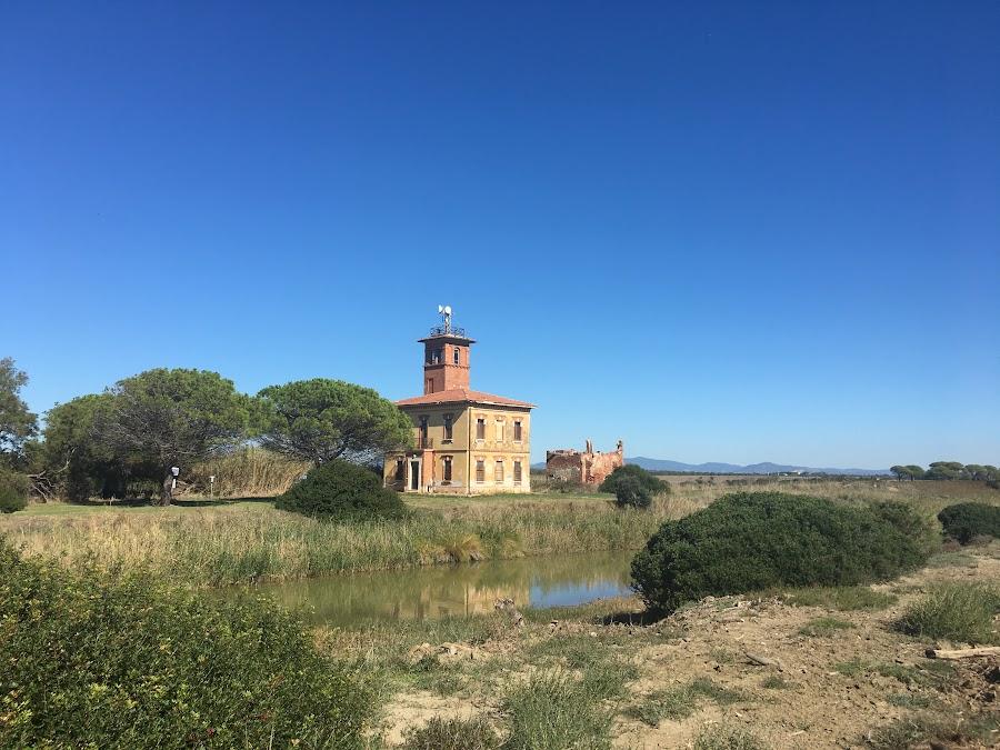 Casello Idraulico Bocca d'Ombrone, Parco naturale della Maremma
