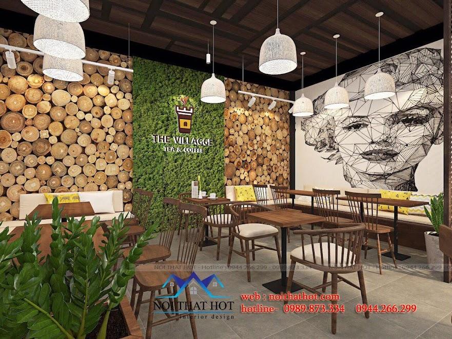 thiết kế quán trà sữa cafe và siêu thị 9