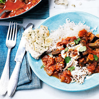Aubergine, Okra And Tomato Curry