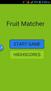 Fruit Matcher - náhled