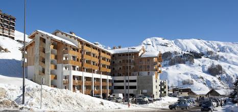 Photo: La station d'Orcières Merlette en hiver