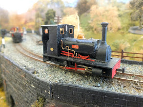 Photo: 017 A rather nice view of Nigel Smith's model of Hunslet 0-4-0ST Lilla .