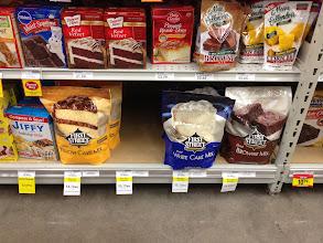 Photo: Oh no! No more chocolate cake mix.