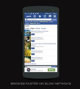 Fast Lite extra for facebook - náhled