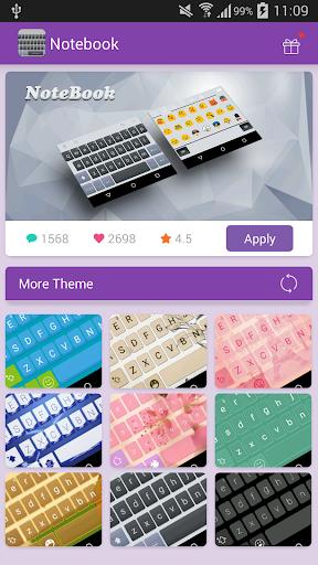 Emoji Keyboard-Notebook