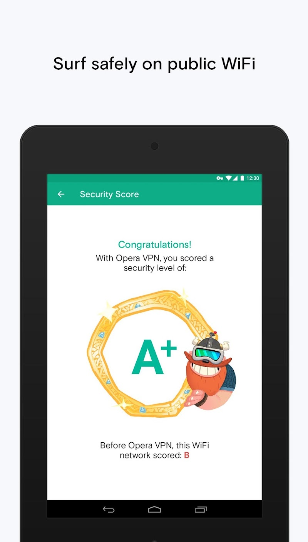 Opera Free VPN - Unlimited VPN Screenshot 8