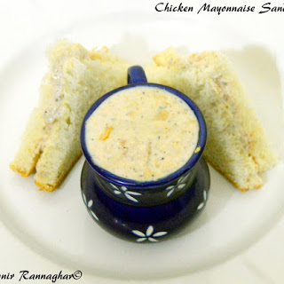 Chicken Mayonnaise Sandwich Recipes.