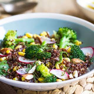 Quinoa & Broccoli Salad.