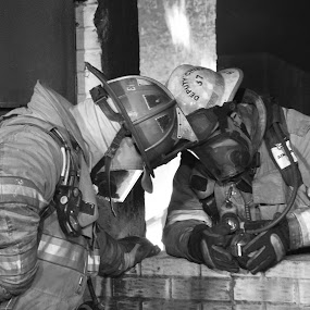 by Ashley Walters - People Professional People ( firefighter, fireman, firefighters, fire fighter, fire truck )