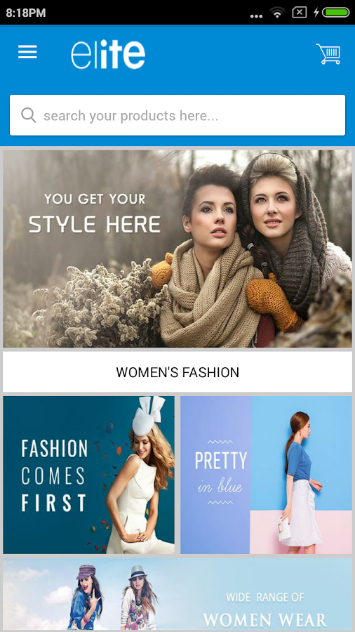 EMC Fashion App- screenshot