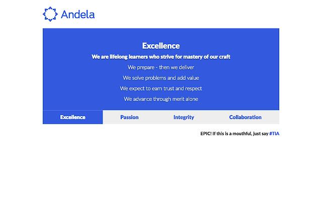 Andela EPIC