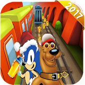 subway  scooby surf racing