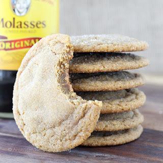 Grandma's Molasses Sugar Cookies