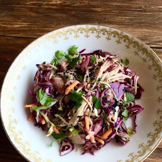 Pulled Pork & Cabbage Salad