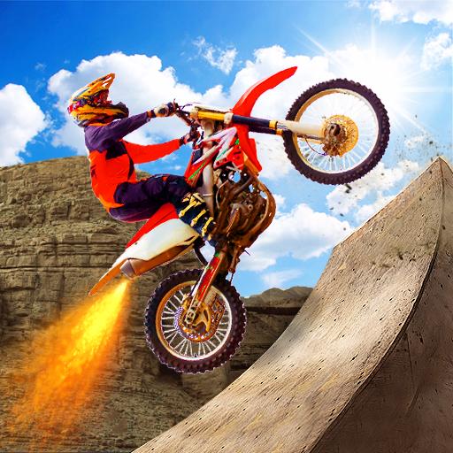 Tricky Stunt Bike Racing Rider