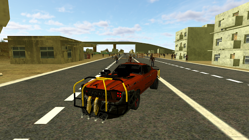 Zombie Grinder Car