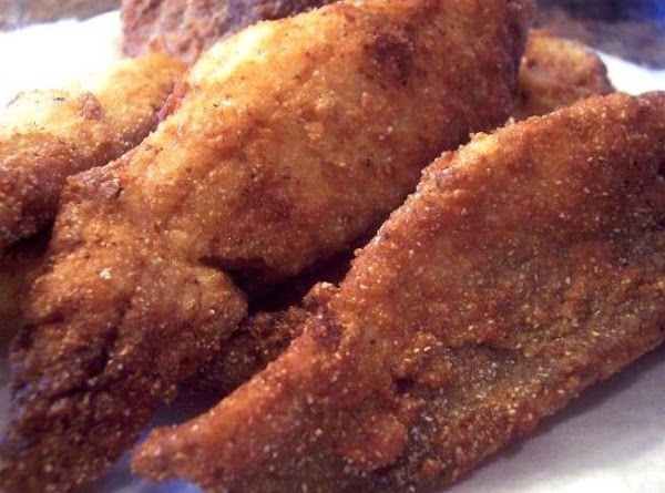 Southern Style Golden Fried Fish Recipe
