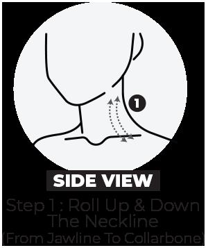 Slimface step 1 side