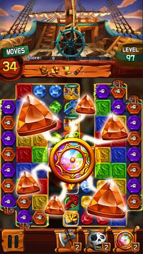 Jewel Voyage: Match-3 puzzle apktram screenshots 2