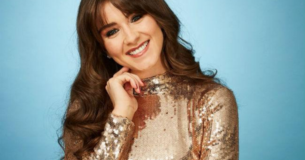 Brooke Vincent got competitive with Dancing on Ice