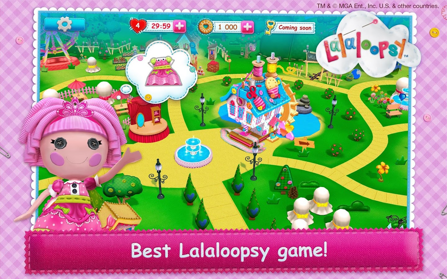 Lalaloopsy 3D Land- screenshot