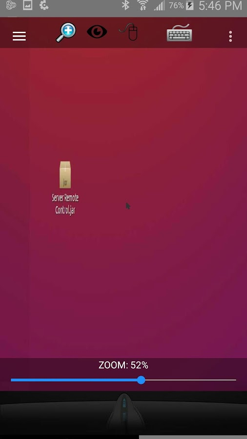 Remote Desktop - στιγμιότυπο οθόνης