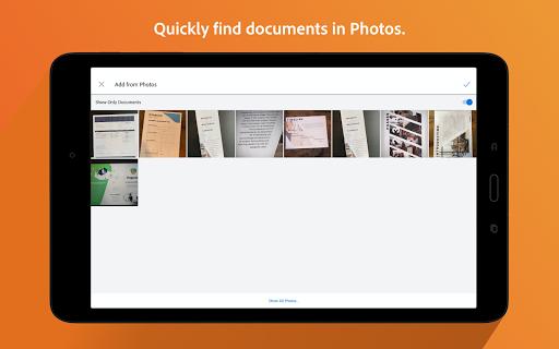 Adobe Scan: PDF Scanner with OCR, PDF Creator screenshot 15