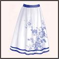青磁-スカート