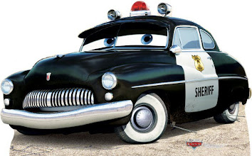 Photo: Theme Party Stand Up Prop http://www.BestPartyPlanner.net Sheriff Cars.