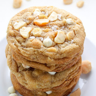 Brown Butter White Chocolate Macadamia Nut Cookies