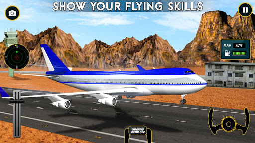Airplane Flight Pilot Sim 3D 1.0 de.gamequotes.net 1