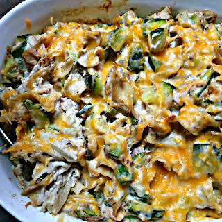 Tuna Noodle Casserole {with extra vegetables}.