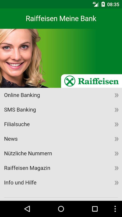raiffeisen online banking at