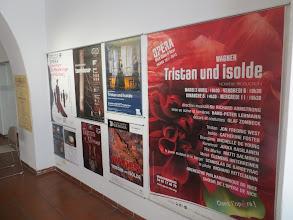 """Photo: BAYREUTH/ Altes Schloss. Ausstellung """"RING-POSTER - zusammengesllt von Dr. Klaus Billand. Juli/ August 2014. Foto: Dr. Klaus Billand"""